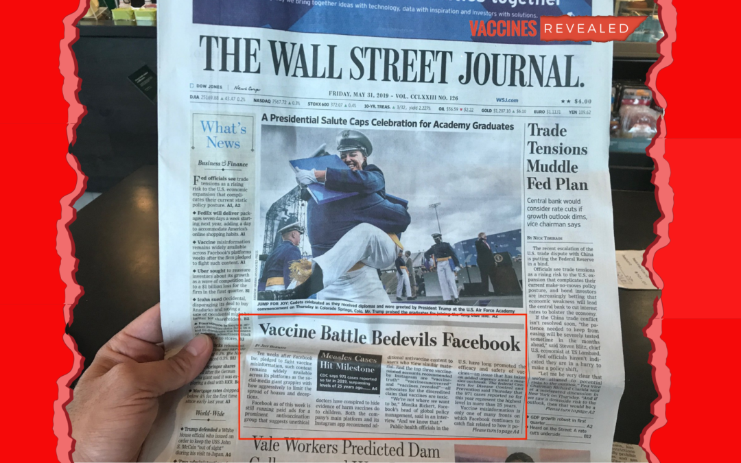 Vaccines Revealed in the Wall Street Journal