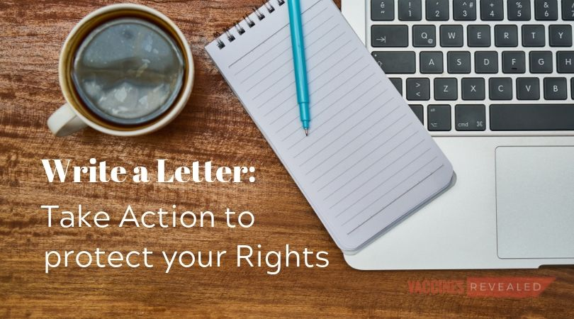 Write a Letter: Take Action to Protect Your Rights
